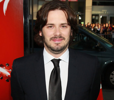 Edgar Wright - black suit premiere